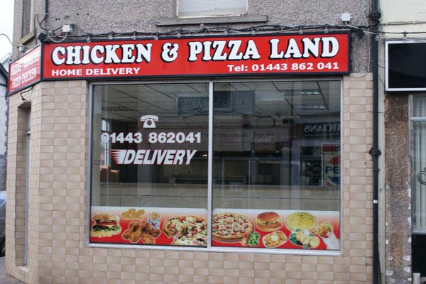 Chicken Pizza Land Town Info