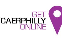 get caerphilly online logo