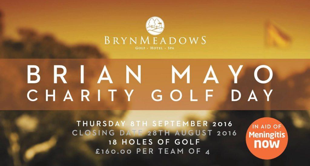 Annual Brian Mayo Golf Day in aid of Meningitis Now
