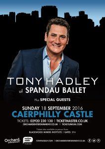 Tony Hadley Caerphilly Castle