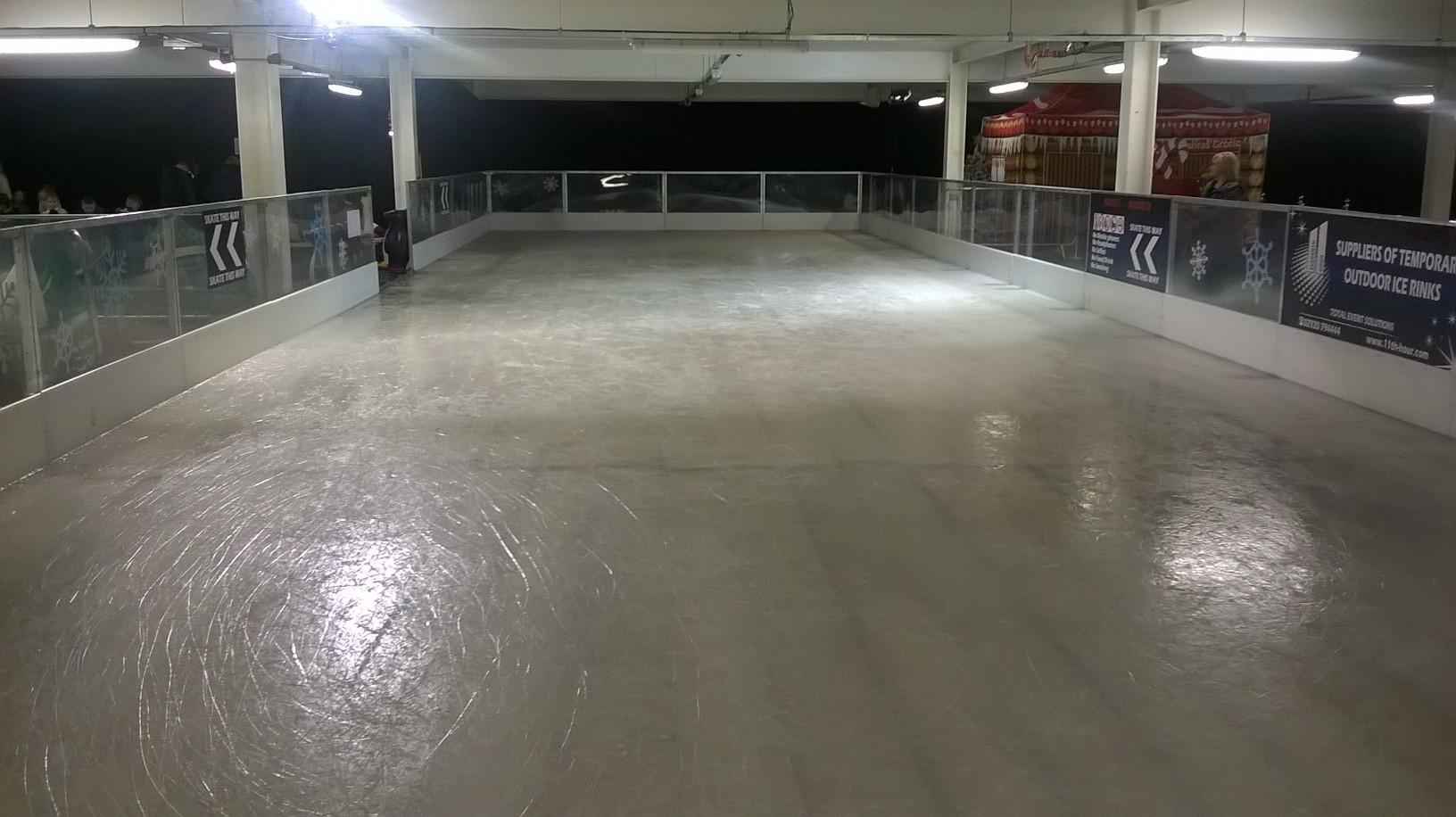 bargoed ice rinks perfect partnership town info