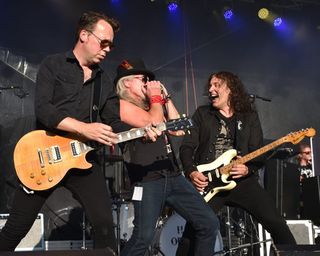 Classic Rock Veterans, Thunder perform at Caerphilly Castle
